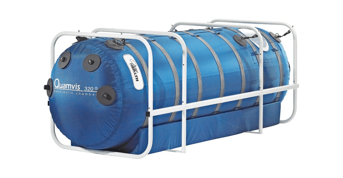 Quamvis Hyperbaric Chamber Angled view
