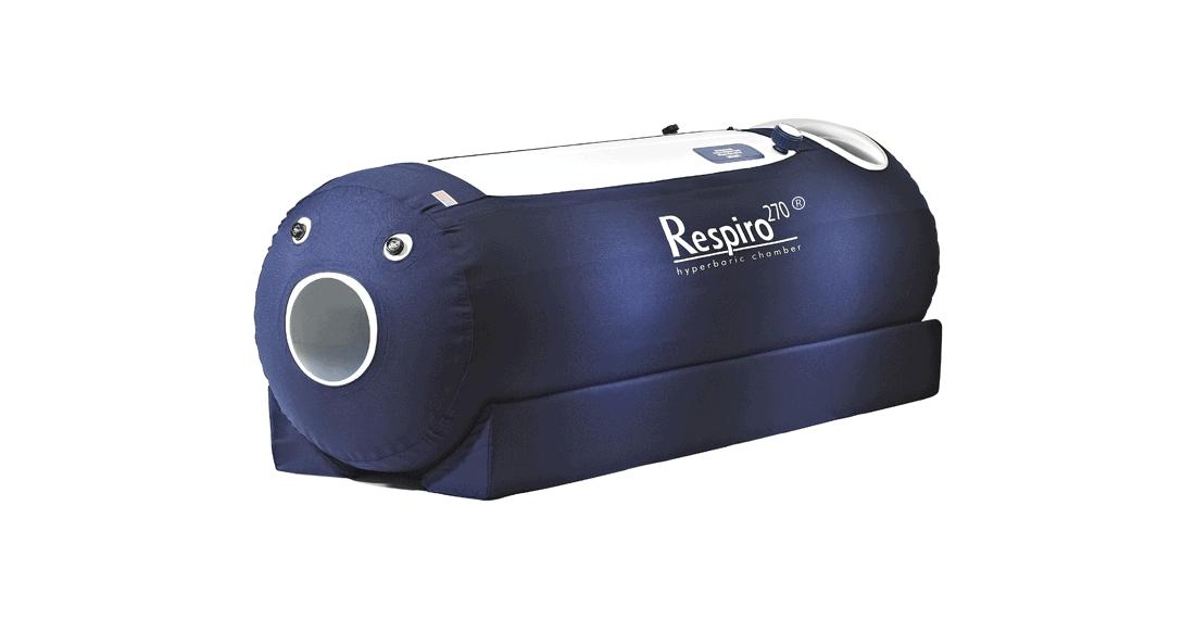 Respiro Hyperbaric Chamber Angled View
